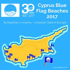 Cyprus Blue Flag beaches 2017