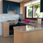 The kitchen looking incredibly tidy