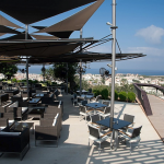 Fab views from Muse Cafe Kitchen, Paphos