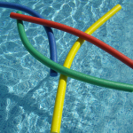 Noodles for fun in the pool