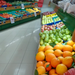 Fresh produce at our local Paps