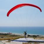 Paragliding at Kourion