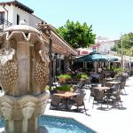 Pissouri Square - hub of the village