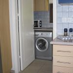 Utility washing machine and microwave