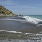 The quiet end of Pissouri beach