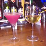 Cocktails at Pissouri Bay Cafe Bar