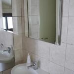 Full length mirror in the loo