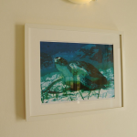 Turtle picture in bedroom 2