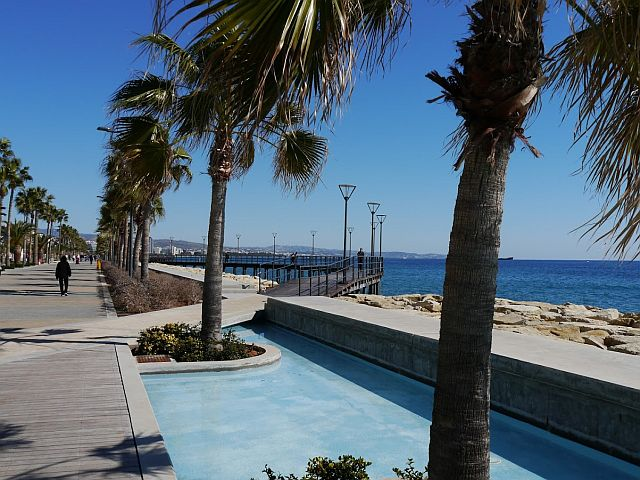 Molos - The Seafront Promenade at Limassol