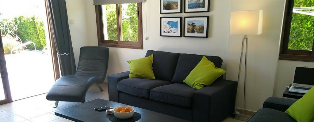 Ampeli Villa comfy sofas