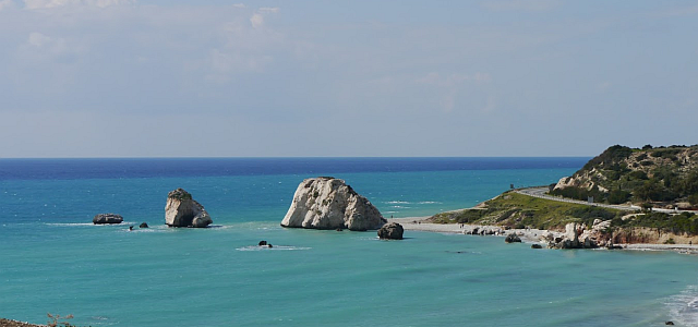 Aphrodites Rock - birthplace of the legendary Goddess