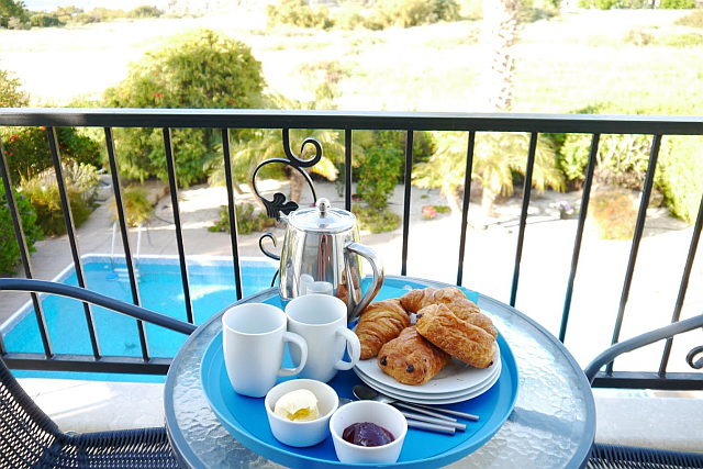 Balcony breakfast