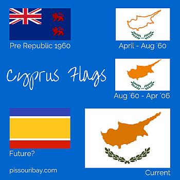Cyprus flag designs