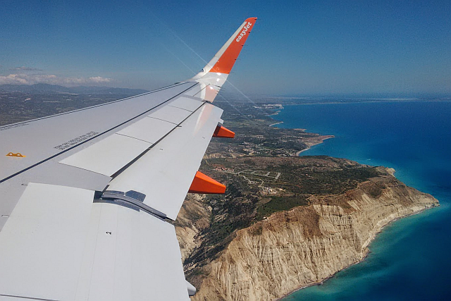 Arriving over Pissouri