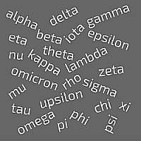 Greek letter names