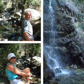 Troodos walk to Caledonia Falls