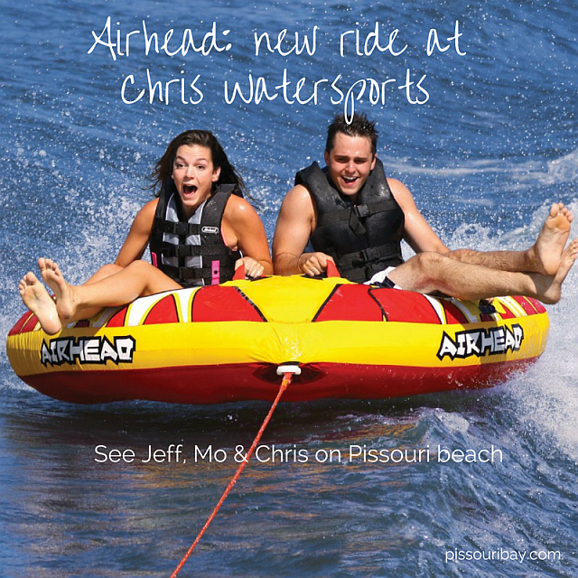 Airhead - Chris Watersports new inflatable tow ride
