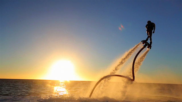 Flyboarding - absolute madness!