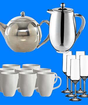 Mugs | above kettle