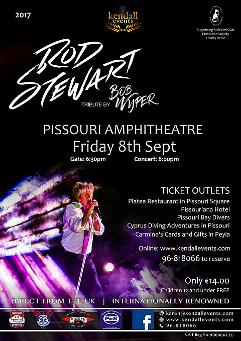 Rod Stewart tribute 8 Sept