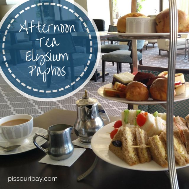 Afternoon Tea at the Elysium, Paphos