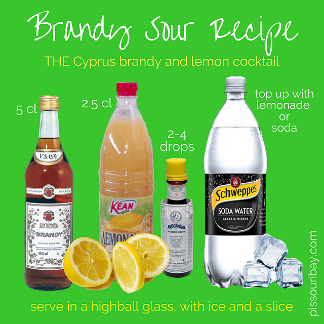 Brandy Sour recipe