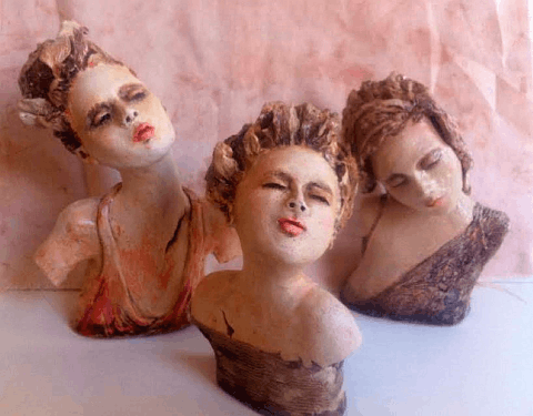 Julie Hart ceramic artist Paphos