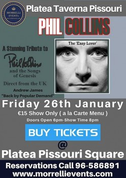 Phil Collins 26 January 2018