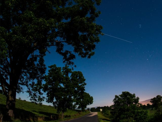 Summer sky watching - International Space Station