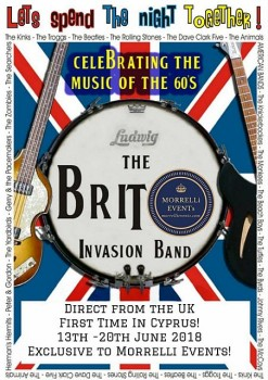 The Brit Invasion Band 13-20 June 2018