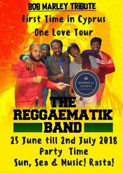 The Reggaematik Band - Pissouri 30 June 2018